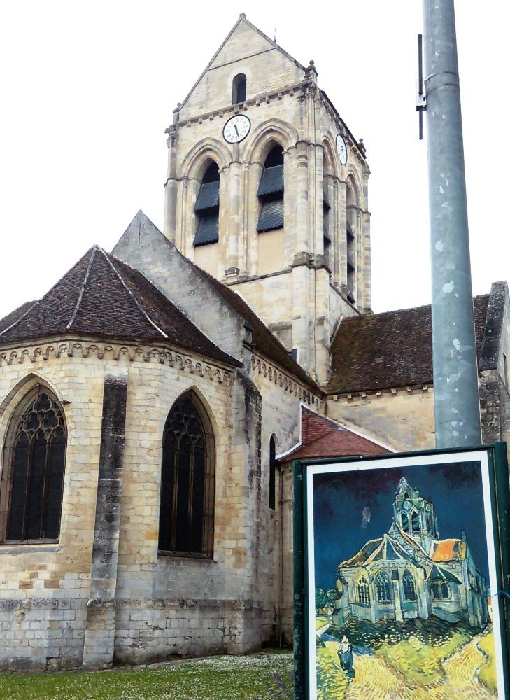 Eglise Auvers ILEPS Erasmus
