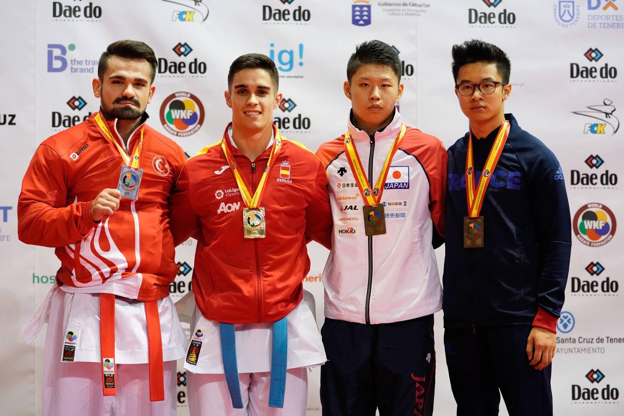 20171026 ILEPS Loick Tranier Championnat Monde Karate 11