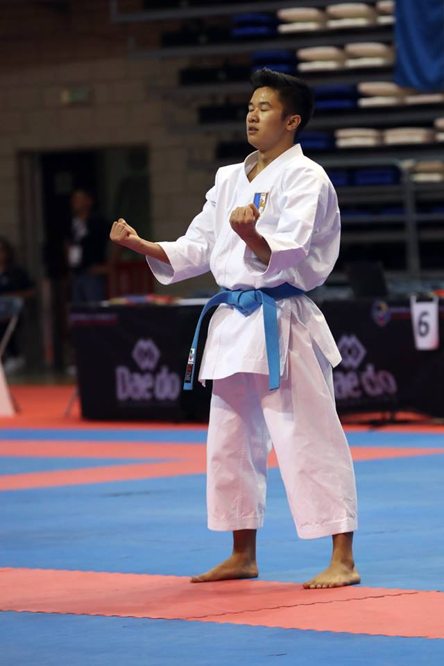 20171026 ILEPS Loick Tranier Championnat Monde Karate 3