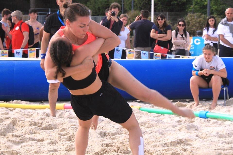20190522 ILEPS Juliette RONDET Beach Wrestling 2