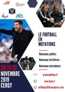 Colloque ACFF : 20,21 & 22 Novembre