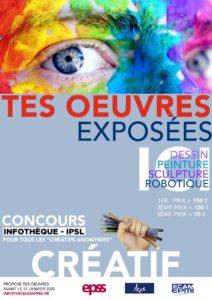 Concours Infothèque «les créatifs anonymes»