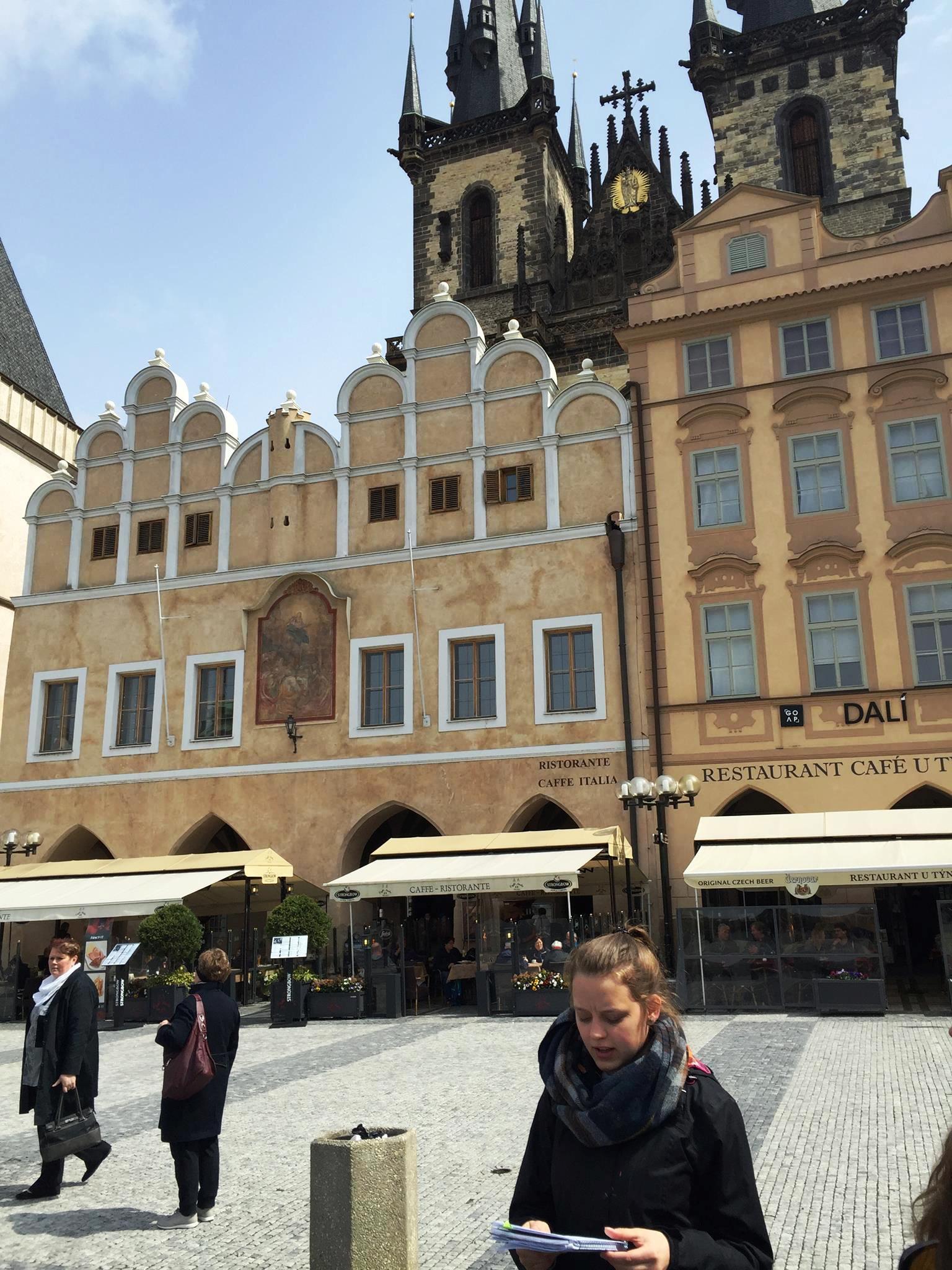 main square ILEPS International Week 2017 Prague