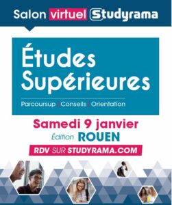 Salon Virtuel Studyrama – 9 janvier