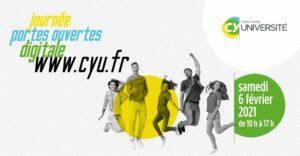 Retrouvez l'ILEPS à l'occasion de la JPO CY Cergy Paris Université