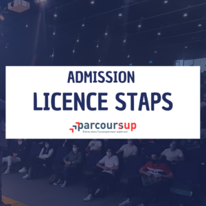 Admissions Parcoursup Licence STAPS