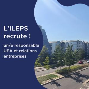 L'ILEPS recrute !